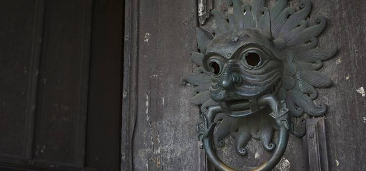 The sanctuary knocker
