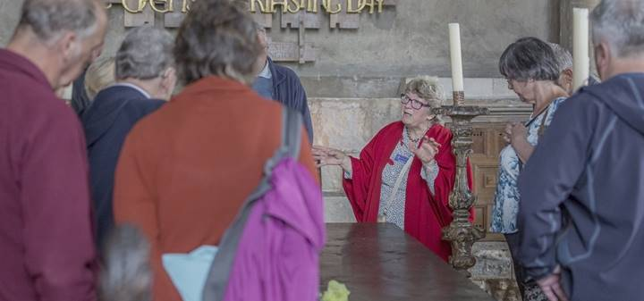 Tour for Visitors led by Cathedral Volunteer