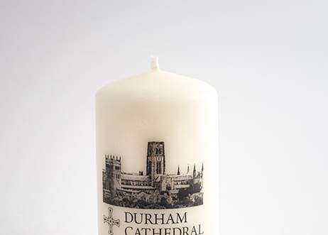 Durham Cathedral Mini Pillar Candle