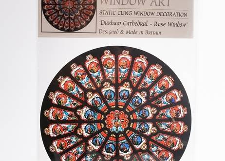 Rose Window Cling