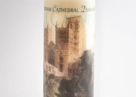 Classic Durham Cathedral Pillar Candle
