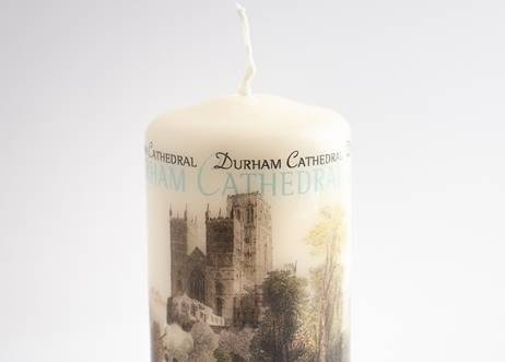 Classic Durham Cathedral Mini Pillar Candle
