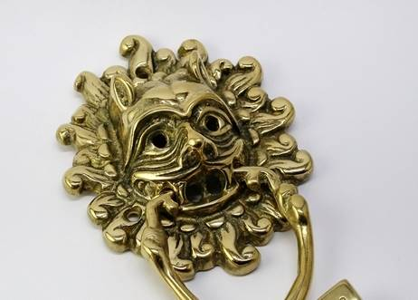 Brass Sanctuary Door Knocker