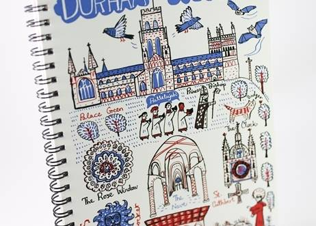 Durham Cityscapes A5 Notepad