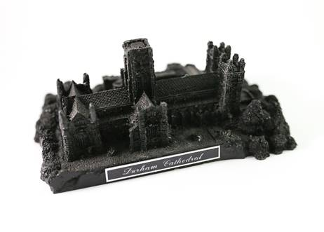 Durham Cathedral in Coal