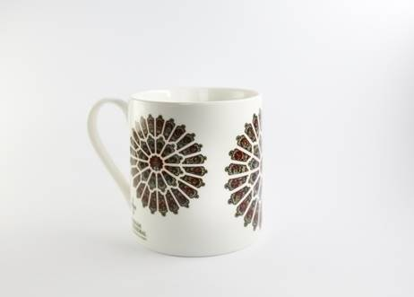 Durham Rose Window Mug